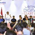 Presiden Jokowi Ajak Anak Muda Majukan Usaha Kecil Masyarakat