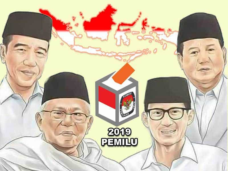 Rekapitulasi KPU Jatim, Jokowi – Ma'ruf Amin Menang Telak