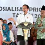 Presiden Jokowi Sosialisasikan Prioritas Penggunaan Dana Desa 2019