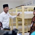 Jokowi Tinjau Rusun Ponpes Darul Arqam