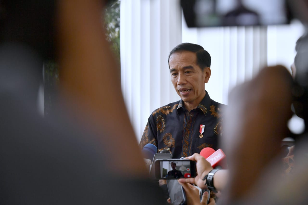 Presiden Jokowi Apresiasi Polri Ungkap Jaringan Teroris di Sibolga