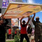 H-2 Pemilu, Bawaslu Jatim Temukan Pelanggaran APK Hingga Politik Uang