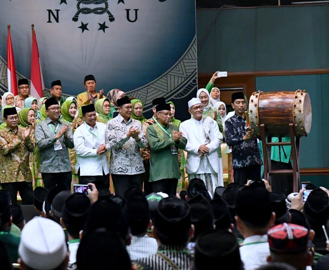 Presiden Hadiri Hari Lahir ke-93 NU di JCC