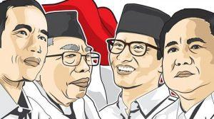 Situng KPU: Jokowi-Ma'ruf Unggul Sementara dengan 54,76 Persen Suara