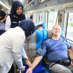 Imlek, PT KAI Daop 8 Berikan Pemeriksaan Kesehatan Gratis