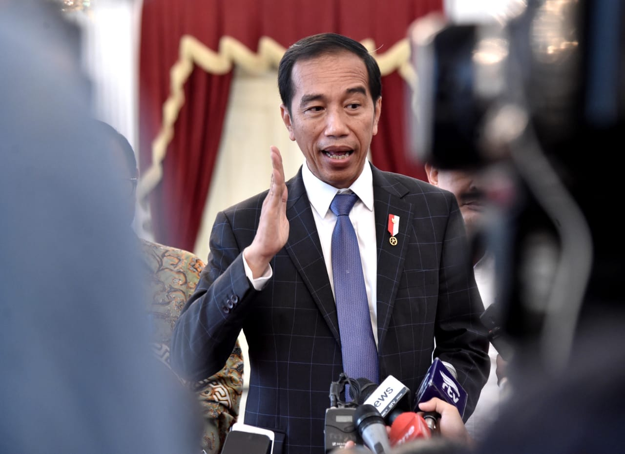 Presiden : Percayakan Pengungkapan Kasus 21-22 Mei kepada Polri