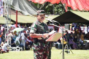 Panglima : Tugas TNI Menjaga Stabilitas Keamanan Negara