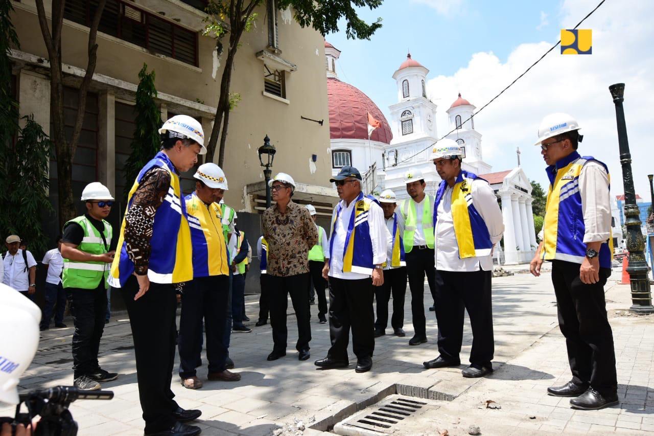 PUPR Targetkan Penataan Kawasan Kota Lama Semarang Selesai Bulan Depan