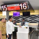 Presiden Resmikan Terminal Baru Bandara Radin Inten II di Lampung