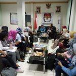 KPI dan KPU Jatim Bahas Keterwakilan Perempuan di Pemilu 2019