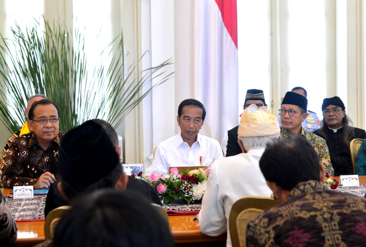 Presiden Bahas Kerukunan Beragama dan Pemilu dengan FKUB