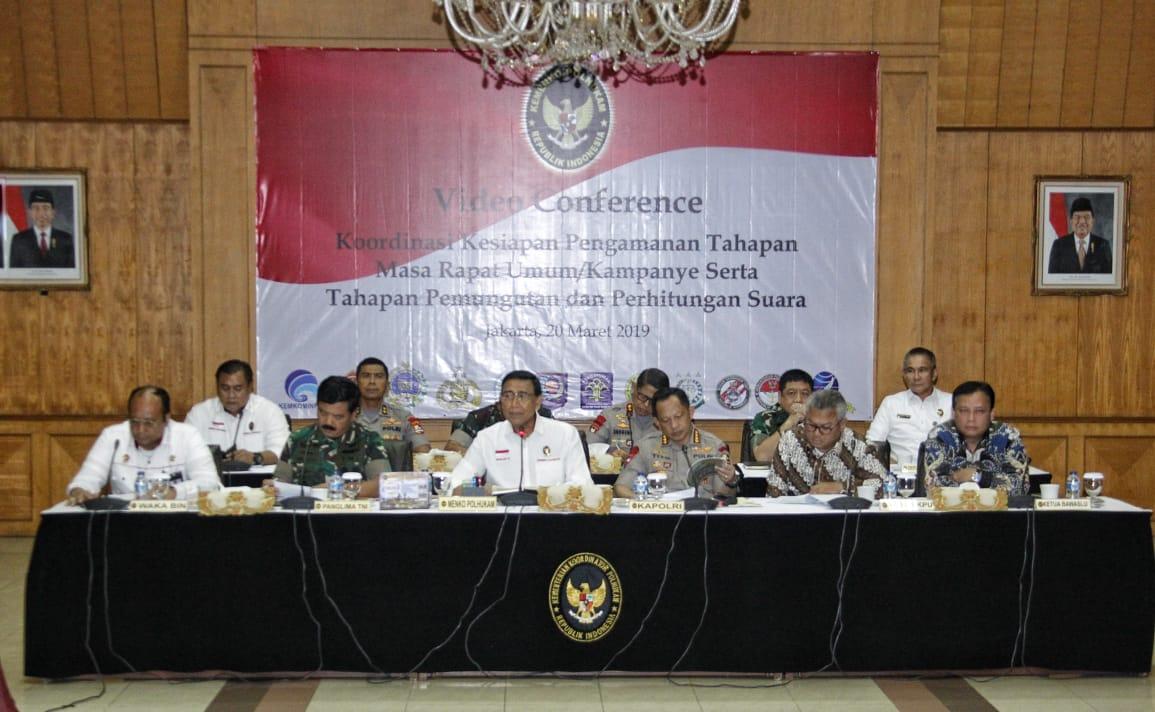 593.812 Personil TNI/Polri Disiapkan Amankan Pemilu