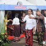 Hadiri Festival Sarung, Presiden Apresiasi Keragaman Sarung Indonesia