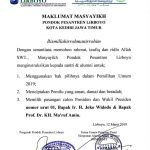 Ponpes Lirboyo Instruksikan Santri Dukung Jokowi – Ma'ruf Amin, Ini Alasannya