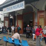 Banjir Pasuruan, Perjalanan KA Terhambat