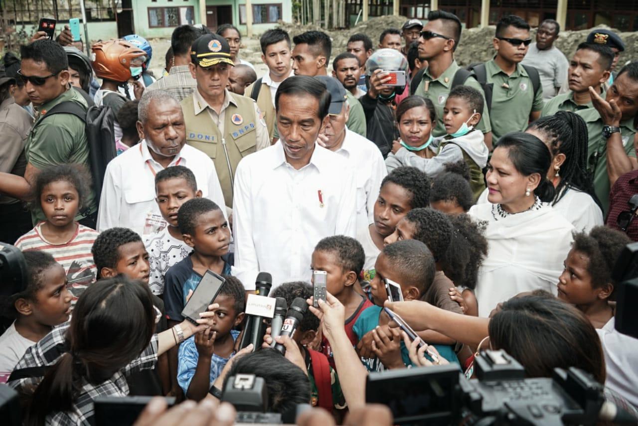 Pascabencana Sentani, Presiden Koordinasikan Pemulihan Kawasan secara Jangka Panjang