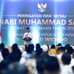 Ini Pesan Presiden di Peringatan Isra' Mi'raj
