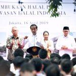 Presiden Resmikan Kawasan Ekosistem Industri Halal Indonesia