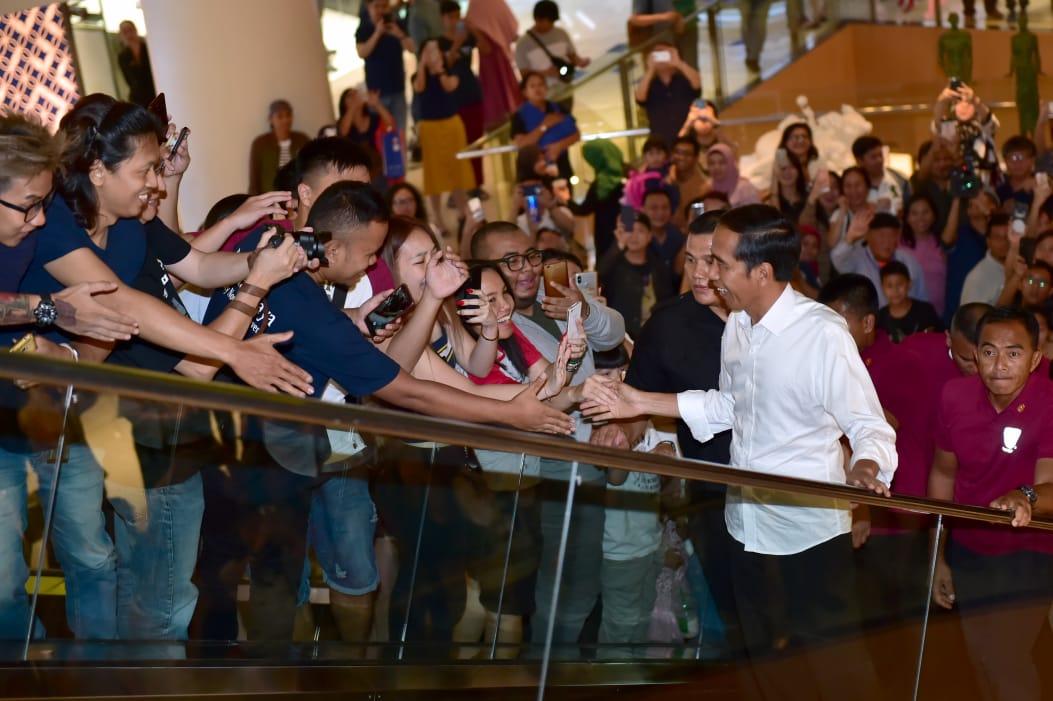 Jokowi Jawab Kekhawatiran Para Pengusaha Terkait Kondisi Bangsa Pascapilpres