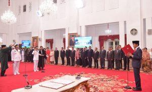 Presiden Lantik Gubernur dan Wakil Gubernur Maluku