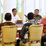 Presiden Bahas Hari Buruh Bersama Pimpinan Serikat Pekerja