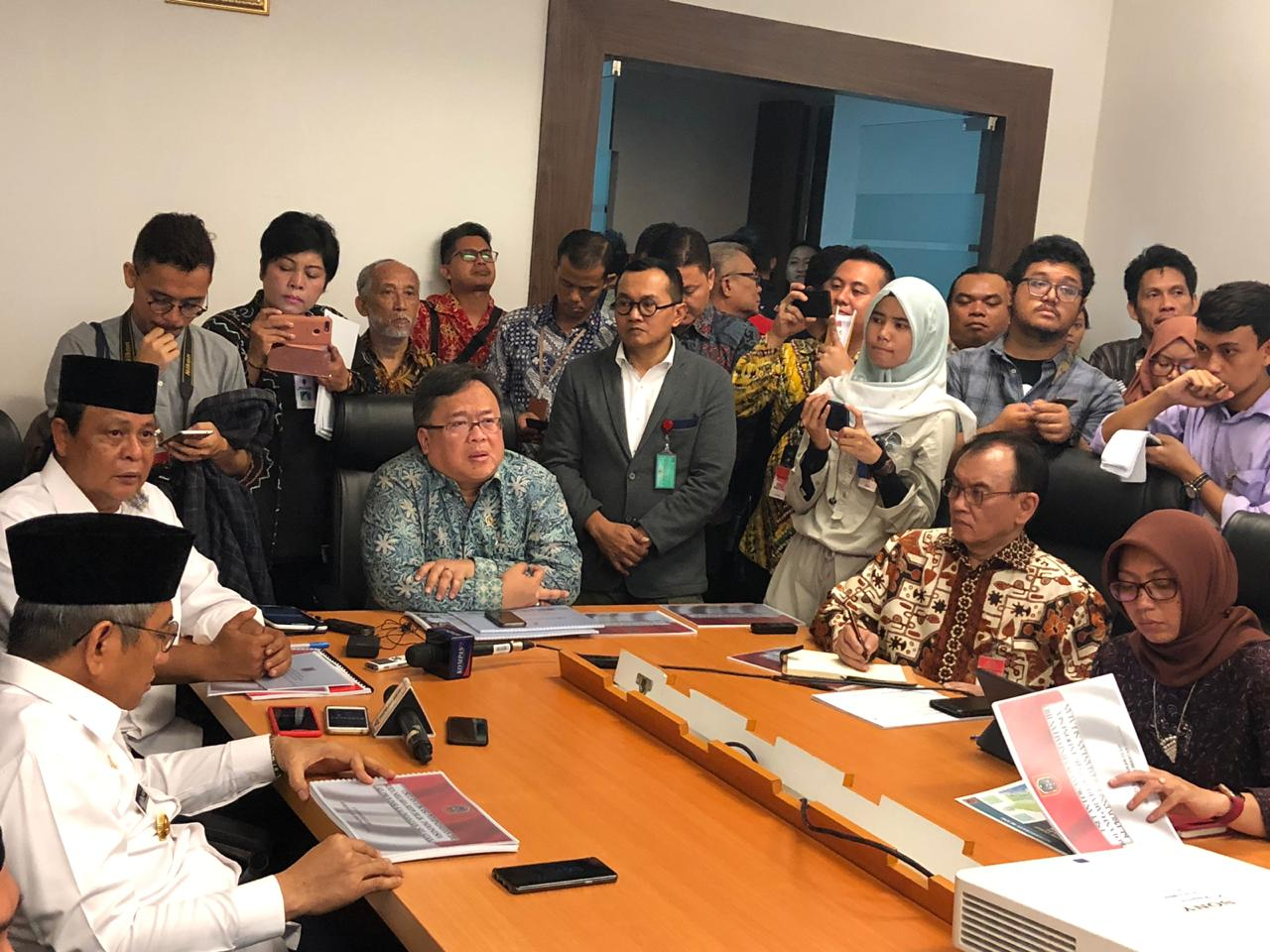 KSP Gelar Diskusi bersama 4 Kepala Daerah yang Berpotensi Jadi Calon Ibukota