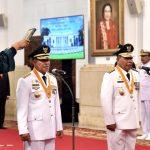 Presiden Lantik Gubernur dan Wakil Gubernur Maluku Utara