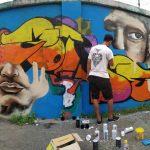 Isi Waktu Ngabuburit dengan Grafiti