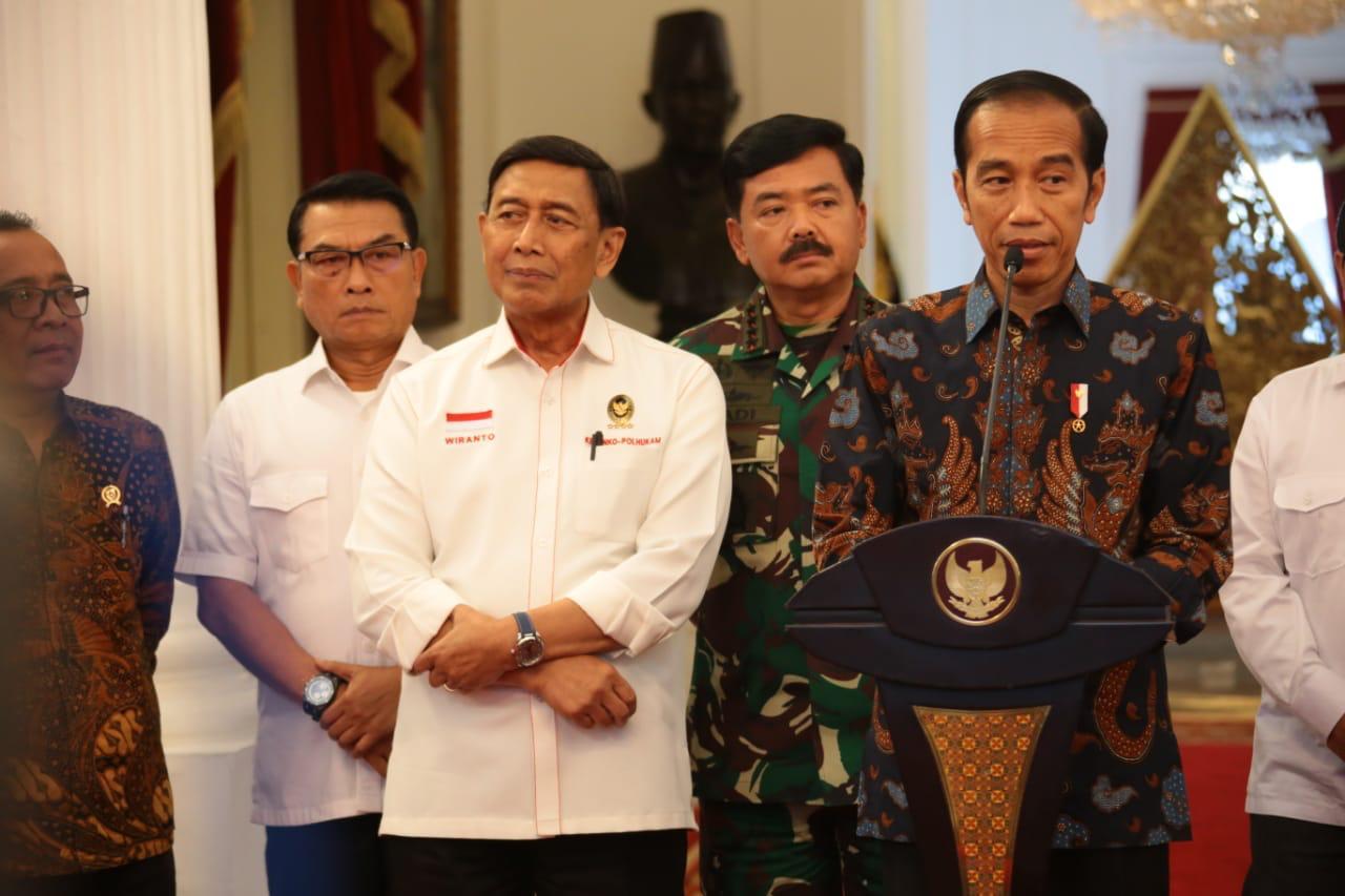 Presiden Tegaskan Takkan Beri Toleransi Pada Pengganggu Keamanan