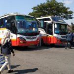 Jelang Arus Mudik, BNN Kediri Tes Kesehatan Pengemudi Bus