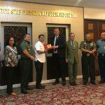 Apresiasi 20 Tahun Kerja Sama Palang Merah Internasional dengan TNI