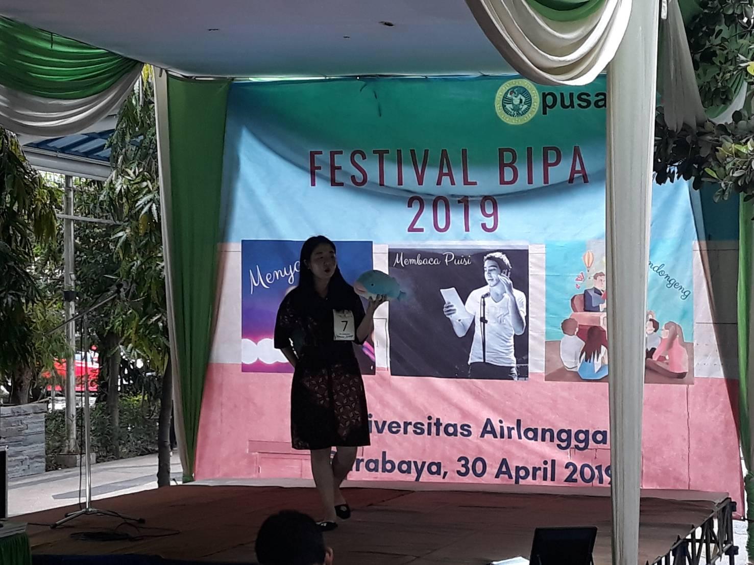 Puluhan Mahasiswa Asing Ikuti Festival Bahasa Indonesia