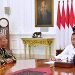 Presiden Bertemu Usma, Pedagang Korban Penjarahan 22 Mei