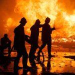 10 Kasus Kebakaran Selama Libur Lebaran di Surabaya