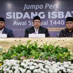 Pemerintah Tetapkan 1 Syawal 1440 H, Jatuh Pada 5 Juni 2019