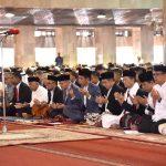 Presiden Salat Id di Masjid Istiqlal