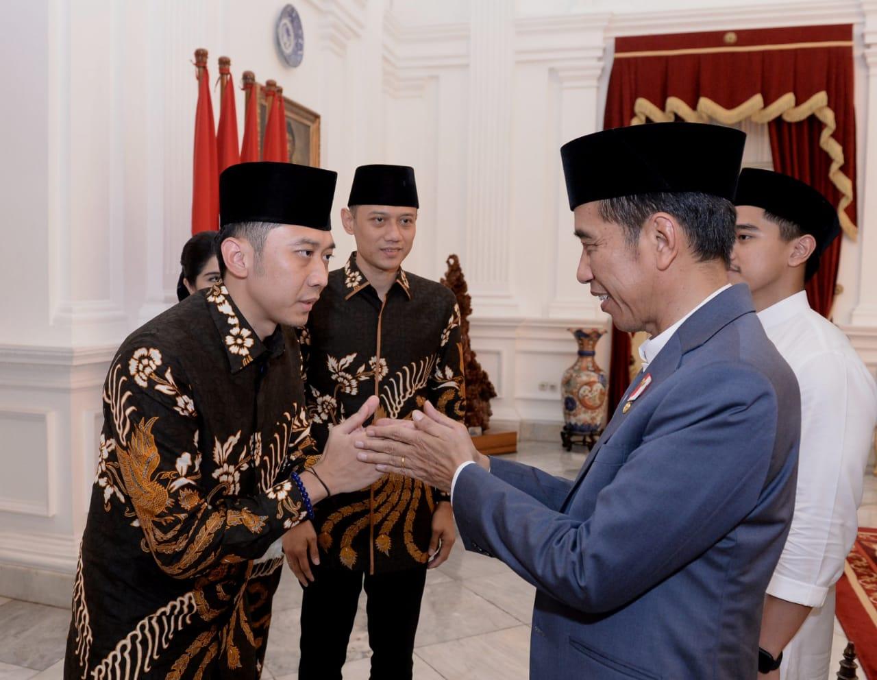 Berlebaran dengan AHY dan EBY, Presiden dan Keluarga Sampaikan Doa dan Dukungan
