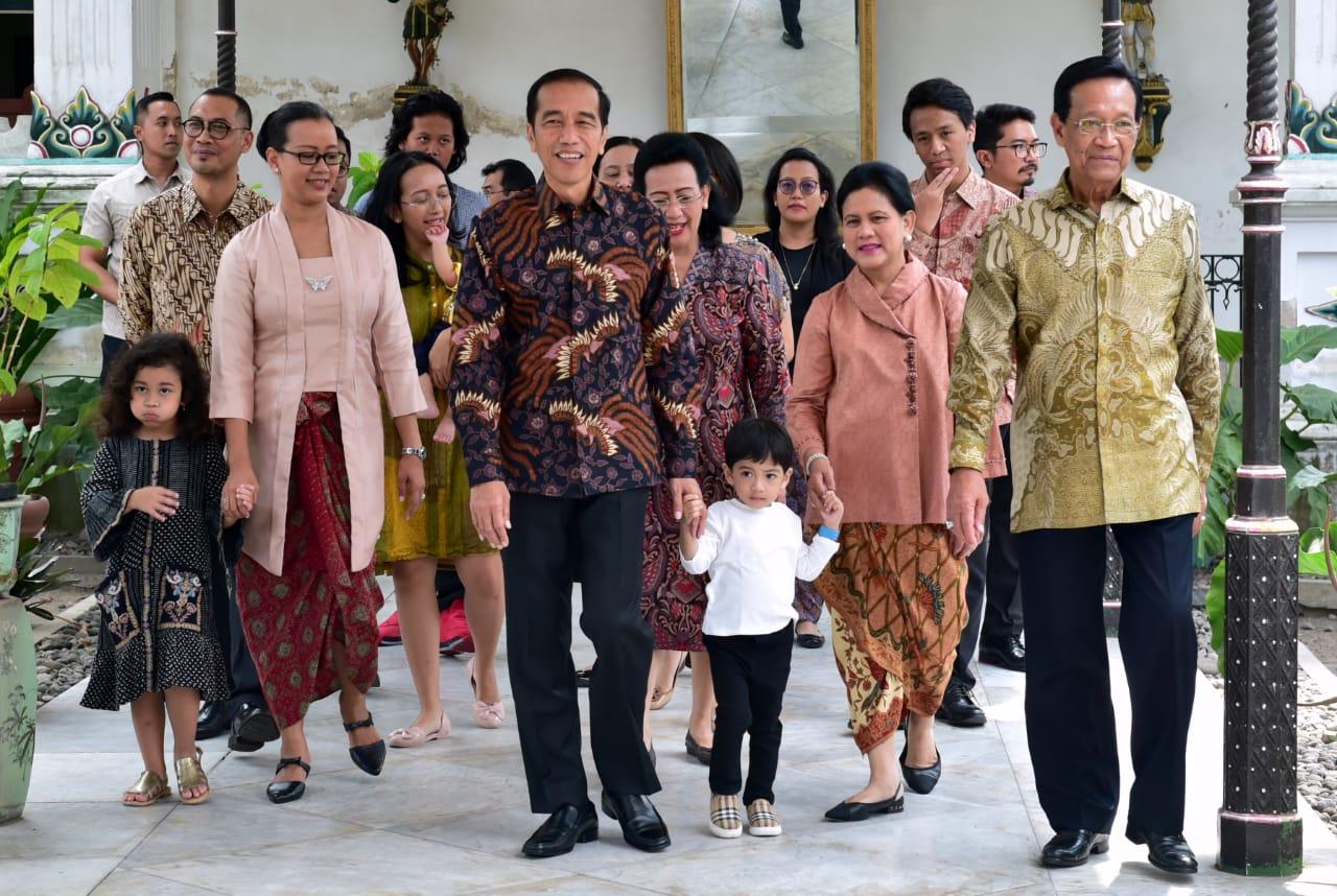 Presiden Silaturahmi ke Keraton Yogyakarta