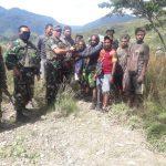 Ajudan Goliat Tabuni Kembali Kepangkuan NKRI