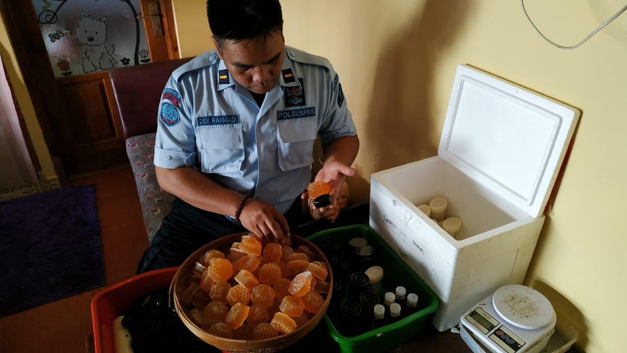 Pegawai Lapas Kediri, Produksi Sabun Berbahan Alami