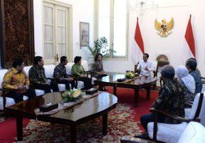 Presiden Terima Sembilan Pansel Calon Pimpinan KPK