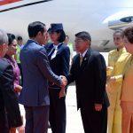 Presiden Tiba di Bangkok