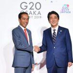 Presiden Terima Ucapan Selamat di KTT G20 Osaka
