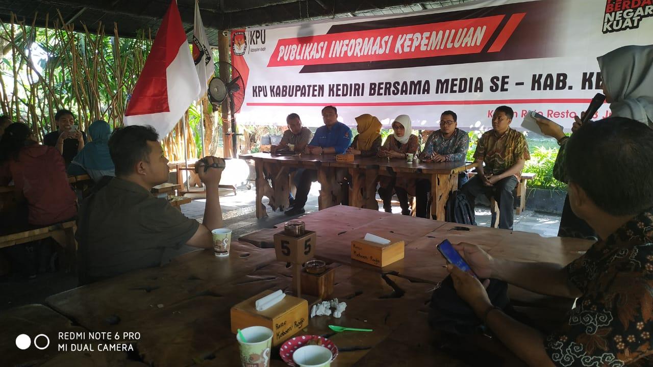 KPU Kediri Akan Mulai Tahapan Pilbup 2020 September Mendatang