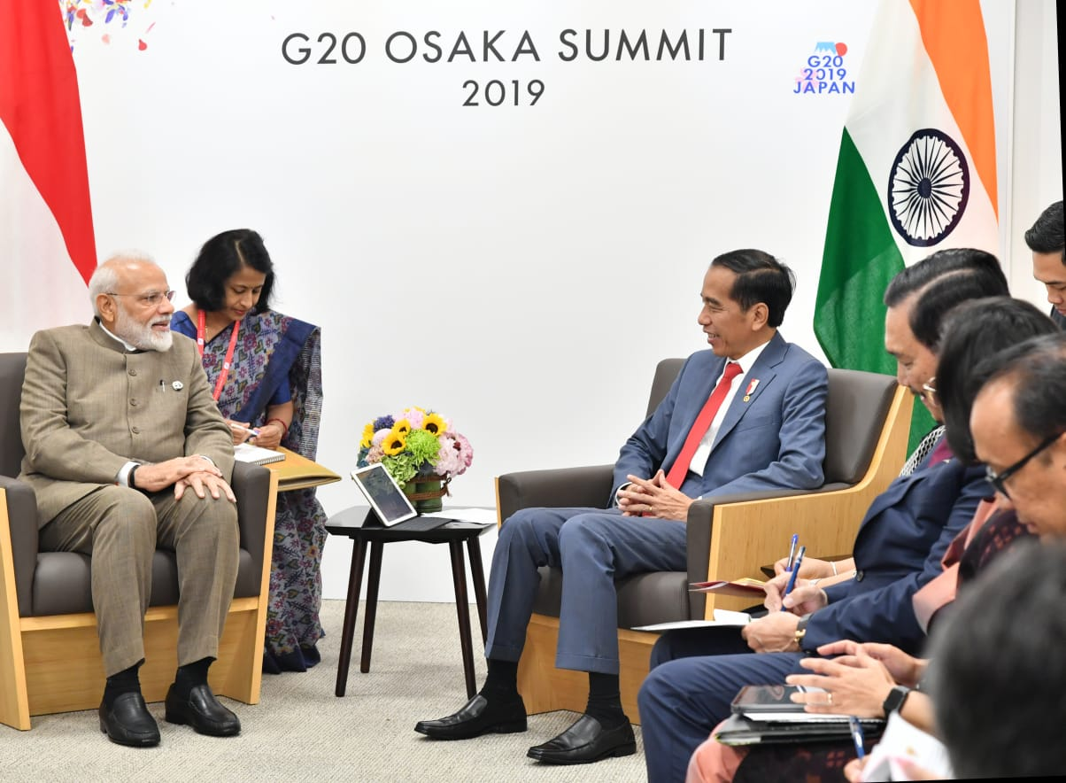 Presiden Angkat Isu Ekonomi dan Maritim saat Bertemu PM India