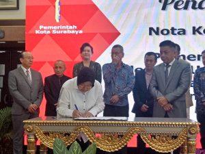 Pemkot Surabaya Jalin Kerjasama Triple Helix dengan Ubaya dan 14 Perusahaan