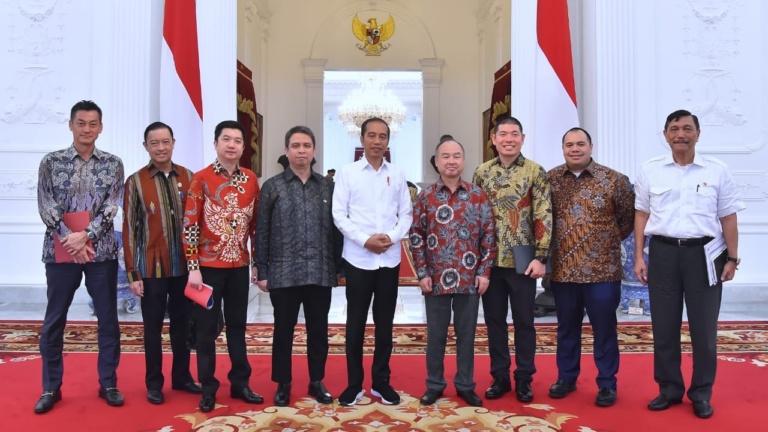 Presiden Terima Komitmen Investasi untuk Industri Digital dan Teknologi