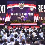 Presiden Apresiasi Peran PGRI Perkokoh Persatuan Bangsa