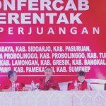 PDI Perjuangan Jatim Gelar Konfercab Serentak