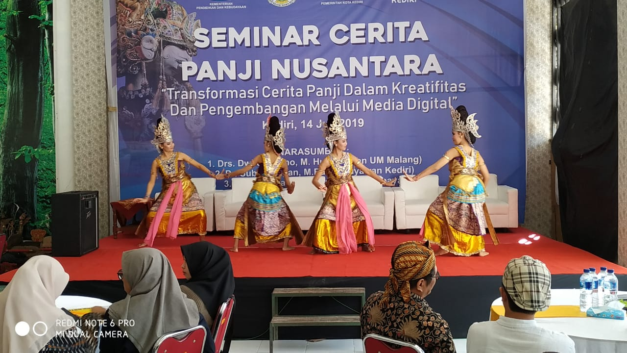 Pemkot Kediri Gelar Seminar Cerita Panji Nusantara